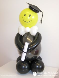 Graduation Balloons, Graduation Decorations, Graduation Party Decor, Birthday Balloons, Grad Parties, Balloon Crafts, Balloon Gift, Balloon Decorations Party, Birthday Party Decorations