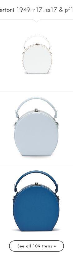 """Bertoni 1949: r17, ss17 & pf17"" by livnd ❤ liked on Polyvore featuring bag, Bertoni1949, resort2017, bags, handbags, shoulder bags, white shoulder bag, studded leather handbags, studded leather purse and mini shoulder bag"