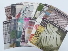 Practical Weaving Suggestions | ❀ download numerous(!) pdfs: http://www.cs.arizona.edu/patterns/weaving/practical.html