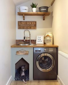 87 a dream laundry room makeover 17 Room Design, Tiny Laundry Rooms, Room Makeover, Dog Bedroom, Laundry Room Layouts, Dream Laundry Room, Built In Dog Bed, Utility Rooms, Small Utility Room