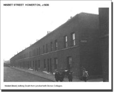 Nisbet Street, Homerton looking south 1939 Personal History, Vintage London, Slums, Family History, Old Photos, Louvre, Street View, Building, Travel