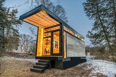 Une petite maison sur roues construite pour l' auteur Cornelia Funke, principalement pour servir de studio d'écriture et de maison d' hôtes...