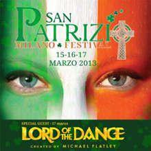 San Patrizio Festival 2013 a Milano (Rho Fiera) dal 15 al 17 marzo.  #SanPatrizio #Milano