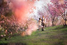 Spring Engagement Photography - PHOTO SOURCE • D. PARK PHOTOGRAPHY | Featured on WedLoft