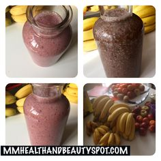 2 #breakfast #SMOOTHIES SMOOTHIE #1 PINK-VANILLA Ingrediënten: 6 rijpe bananen 1 eetlepel chia-zaad 4 druppels vanille extract 8 dadels – ontpit 1,5 kop roodfruit – uit de diepvries (aard… #vegan #veganistisch
