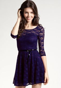 Mesh Heart Lace Dress - Navy  Oh my gosh I love this dress! I think I might get it for promotion