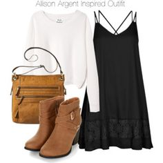 Teen Wolf - Allison Argent Inspired Outfit
