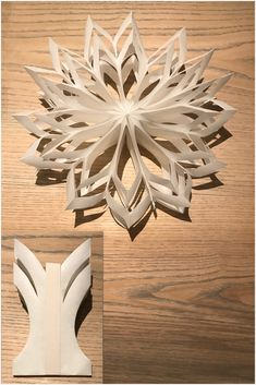 Paper star Paper star Made from Paper bags sige Paper Bag Crafts, Paper Crafts Origami, Diy Paper, Paper Snowflakes, Paper Stars, Christmas Bags, Christmas Paper, Small Paper Bags, Art Quilling
