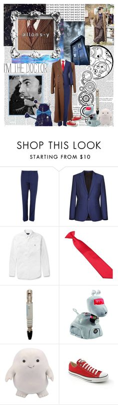 """""""``Wibbly wobbly... time-y wimey... stuff"""" by mars-phoenix ❤ liked on Polyvore featuring Oris, River Island, Polo Ralph Lauren and Converse"""