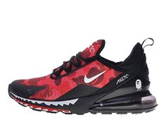 new concept f9a74 5eb48 Site Officiel 2019 Nike Air Max 270 Pas Cher Homme Big rouge noir blanc  AH6799-
