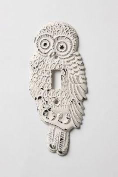 Anthropologie Hoot, Hoot Switchplate, Single #anthrofave #anthropologie