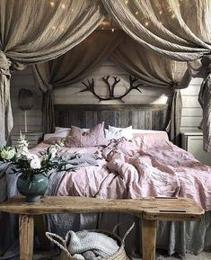 41 Romantic Master Bedroom Décor Ideas on A Budget is part of Hygge bedroom - Usually a bedroom is made for two people It is one of the most used places in a home, so […] Cozy Bedroom, Home Decor Bedroom, Modern Bedroom, Bedroom Furniture, Bedroom Romantic, Contemporary Bedroom, Romantic Home Decor, Bedroom Classic, Bedroom Ideas Master On A Budget