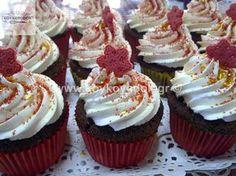 Pancake Cupcakes, Mini Cupcakes, Christmas Projects, Christmas Time, Christmas Recipes, Christmas Ideas, Greek Desserts, Cake Recipes, Food And Drink