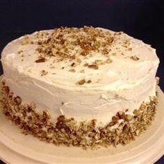 Hummingbird Cake, Blue Ribbon Winner. Crushed pineapple, bananas, nuts, dash of cinnamon with a cream cheese icing!! Potluck Favorite!!!