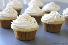 Dairy & Soy free buttercream frosting.  I'm hoping to use this recipe for Piper's birthday cake!
