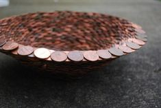 Penny Bowl | 25 Pretty Penny Projects To DIY