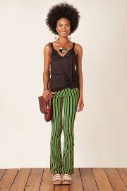 calça skinny raya verde
