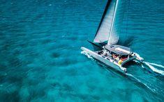 Catamaran Design, Catamaran Charter, Sailing Catamaran, Exuma Island, Great Exuma, Swimming Pigs, Yacht World, Sailing Cruises, Special Delivery