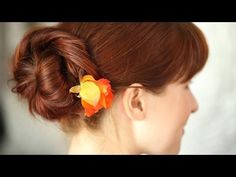 How To Create A Loose Chignon || KIN BEAUTY