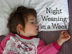 Haven't read this yet so not sure about the method  but night weaning is definitely in our near future.