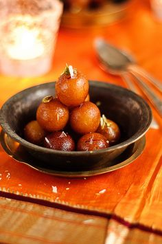 Happy Diwali and Saal Mubarak !! Gulaab Jamuns