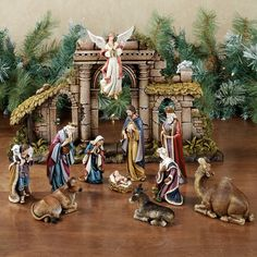 Heirloom 12 pc Nativity by Roman - Sold as Set or Individually