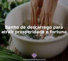 Banho de descarrego para limpeza e atrair fortuna - Raizes Espirituais