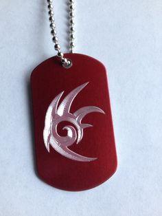 Shadow the Hedgehog Symbol Dog Tag Necklace