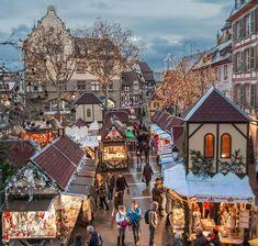 Marchés de Noël de Colmar, Alsace, France