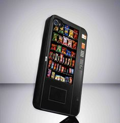 Food Vending Machine Protective case for iPhone and