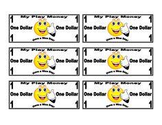 printable money templates