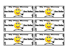 Free money printables for kids to play with. Good for counting and ...