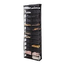 College Dorm Storage, Dorm Room Storage, Closet Storage, Over Door Shoe Rack, Shelf Over Door, Shoe Rack Walmart, Door Shoe Organizer, Keep Shoes, Dorm Essentials
