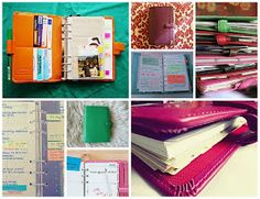 A Quirky Girl's Thoughts: Mad About Planners: Moleskine, Filofax, and More!