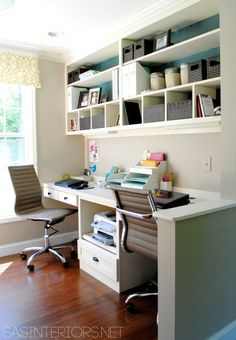 Craft Room & Office Reveal - Creative Nest