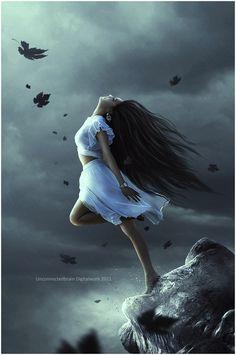 art oscuro Surrender by unconnectedbrain Gothic Fantasy Art, Fantasy Girl, Fantasy Artwork, Dark Gothic Art, Fantasy Wesen, Photographie Portrait Inspiration, Arte Obscura, Beautiful Fantasy Art, Fantasy Photography