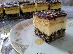 Polish Desserts, Polish Recipes, Polish Food, Easy Cake Recipes, Cookie Recipes, Sweets Cake, Food Cakes, Holiday Desserts, Cake Cookies