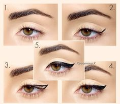 Cat eye makeup tutorial, Cat eye makeup and Eye makeup tutorials