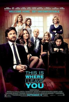 This Is Where I Leave You (2014).  It's like an R-rated Dan in Real Life meets Arrested Development meets 30 Rock meets Parenthood meets Friday Night Lights meets Girls meets Justified meets Parks and Rec meets Barbarella/They Shoot Horses Don't They/Klute/9 to Five/Stanley and Iris.  In all seriousness, this is quite the cast, and yet somehow Dax Shepard manages to steal the show.  Not sure what is going on with Timothy Elephant's hair.  Solid performances all around.  Watchable motion…