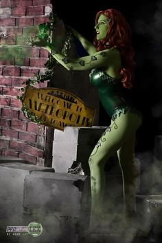 Poison ivy By Abby Dark Star.