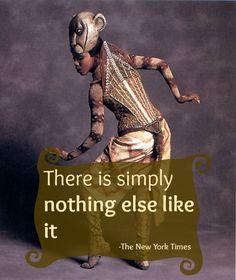 Ir a Nueva York y no haber visto el musical del Rey León es como no haber ido en lo absoluto