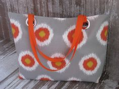 Hey, I found this really awesome Etsy listing at https://www.etsy.com/listing/178870908/xl-ikat-grey-and-orange-beach-tote-bag