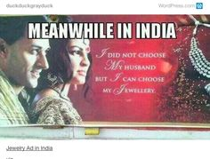 On choice. | 22 Times Tumblr Perfectly Summed Up Every Desi Girl's Problems