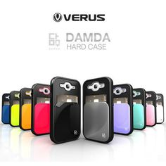 VERUS DAMDA Hard Case for iPhone 5,Galaxy S3 III & S4 IV