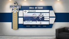 Digital wall of fame by Rocket Alumni Solutions. Interactive Touch Screen, Interactive Display, School Donations, Donor Wall, Web Platform, Wall Of Fame, Digital Wall