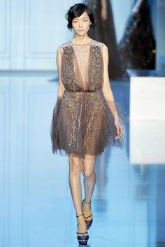 Elie Saab Fall 2011 Couture Fashion Show - Fei Fei Sun (Elite)