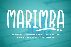 Marimba is the kind of font you'll be reaching for over and over again. It pairs great with all sorts of styles and provides a clean, readable font, with a touch of fun. Comes in both a sans and a slab serif with a complementary wide, bold font. Also included are some doodles to help bring your projects to life.