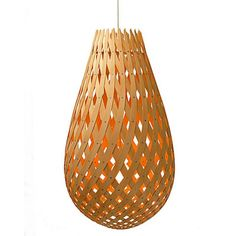Koura Pendant Light - Natural - David Trubridge | MetropolitanDecor.com