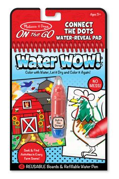 Melissa & Doug Water Wow! Paint with Water - Connect the Dots Farm
