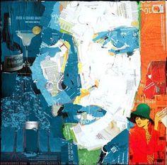 Reciclado Collage Art 01